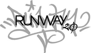 RUNWAY 2.0 LOGO_White Bicycle